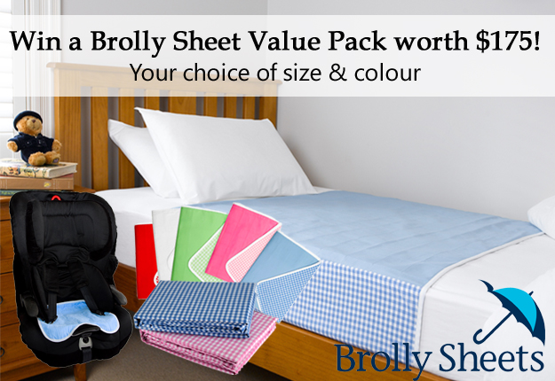 WIN 1 of 5 Brolly Sheets Value Packs