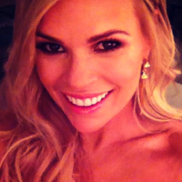 Sonia Kruger receives support from a very famous guest