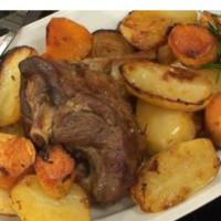 Traditional Roast Lamb Dinner