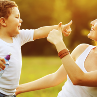 Being present with your child