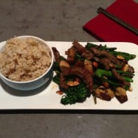 Healthy Beef and Almond Stir Fry