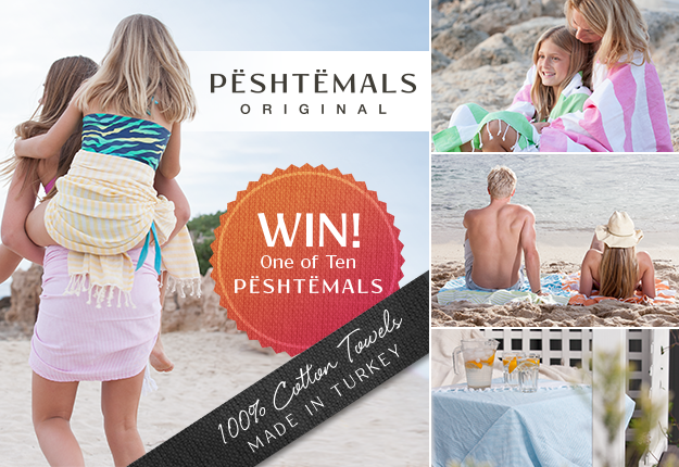 WIN 1 of 10 – 100% Turkish Cotton Peshtemals