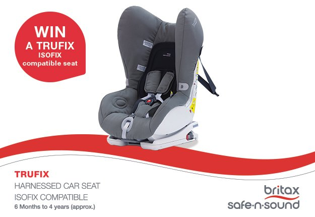 WIN 1 of 2 Britax Trufix car seat restraints