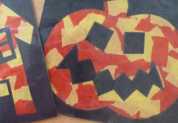 Halloween Pumpkin (Preschool-Primary School)