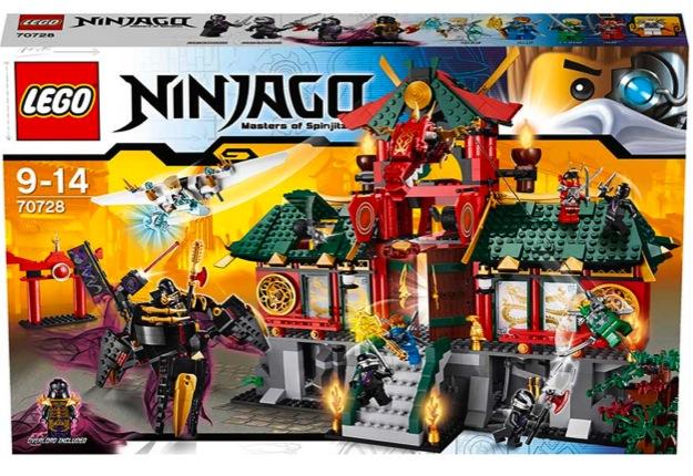 Win a LEGO® Ninjago: Masters of Spinjitzu REBOOTED pack!