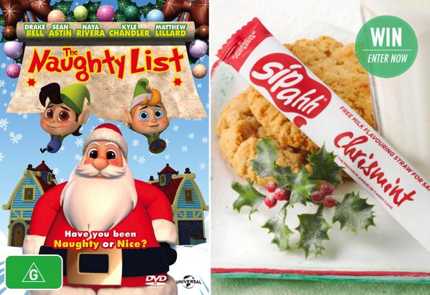 WIN 1 of 10 The Naughty List Christmas packs!