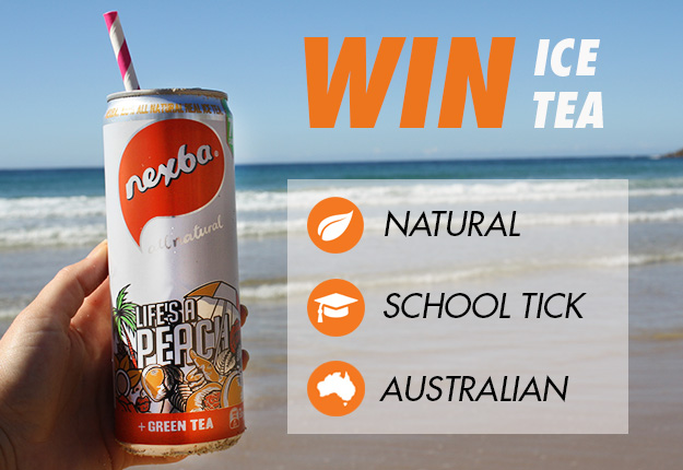 WIN 1 of 10 summer ice tea prize packs from Nexba!