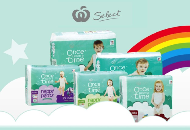 Woolworths Select Once Upon A Time Nappies