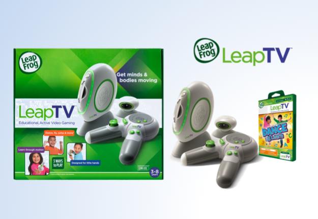 WIN 1 of 2 LeapTV sets from LeapFrog