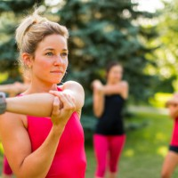 How new mums can beat flabby arms