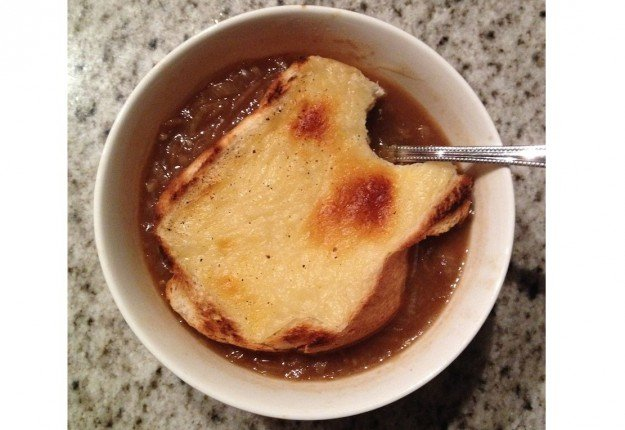 Sage and onion soup