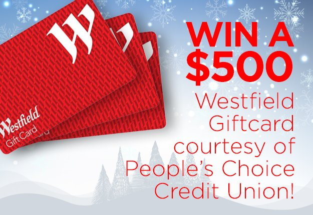 WIN a $500 gift card courtesy of People's Choice Credit Union!