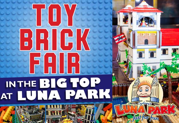 WIN 1 of 2 Toy Brick Fair & Luna Park Family passes!
