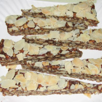 Almond panforte