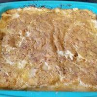 Devilishly delicious potato bake