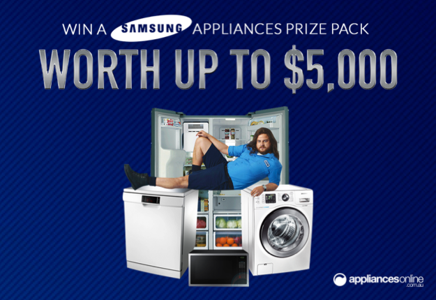 WIN a Samsung applicances pack worth up to $5000!