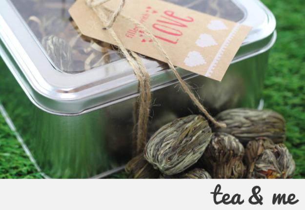 WIN 1 of 5 stunning tea sets from Tea & Me!