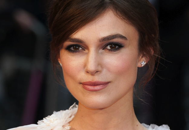 Keira Knightley Reveales Baby Bump at Chanel Party
