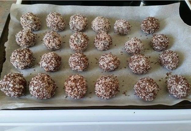 Christmas mint balls