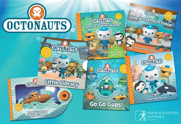 WIN an Octonauts Live family pass plus Octonauts book packs!