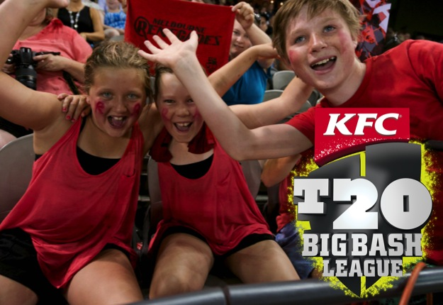 WIN 1 of 20 family passes to the KFC T20 Big Bash League
