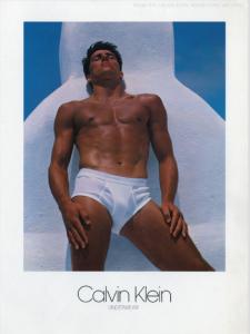 Calvin Klein model Tom Hintnaus