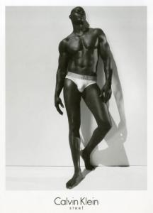 Djimon Hounsou Calvin Klein