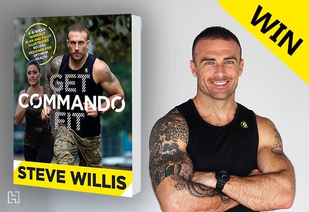 WIN 1 of 15 copies of GET COMMANDO FIT by Steve 'Commando' Willis