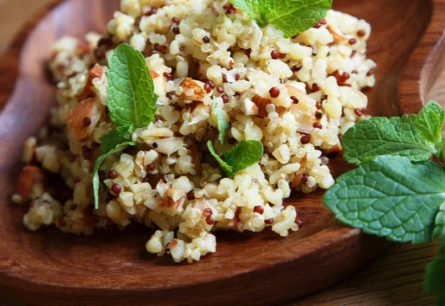 Moroccan chicken quinoa