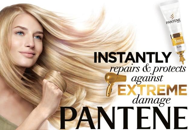 Pantene 3 Minute Miracle Treatment