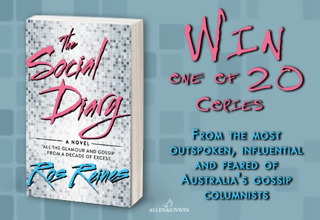 WIN 1 of 20 copies of The Social Diary by Ros Reines