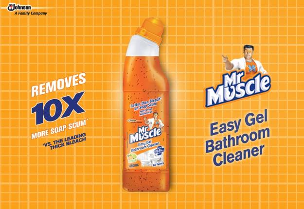 Mr Muscle Easy Gel Bathroom Cleaner