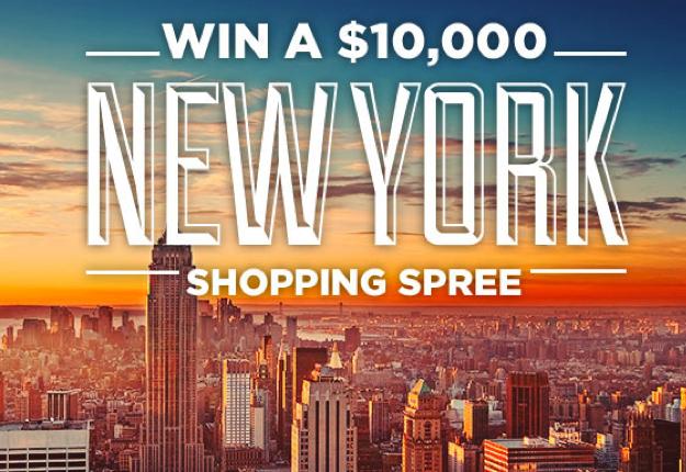 WIN a $10,000 New York Shopping Spree!