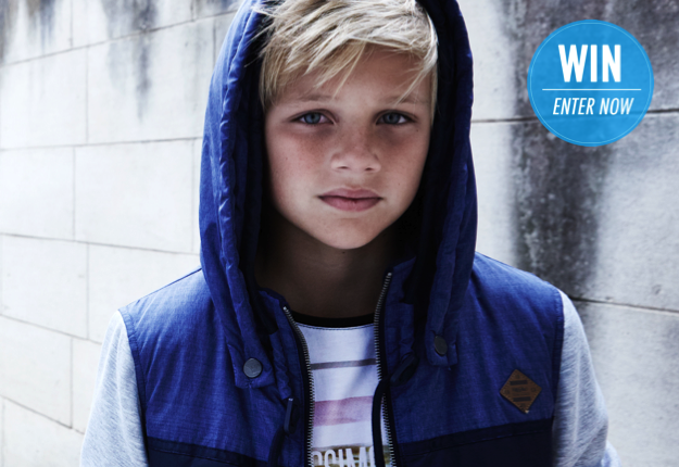 WIN 1 of 2 $250 Mossimo vouchers to spend on their junior range!
