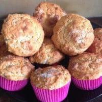 Mixed Berry Yoghurt Muffins