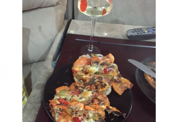 Easy and tasty home made pizzas