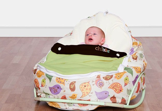 keeleynme reviewed Win 1 of 3 Winter Chibebe Snuggle Pod Packages!