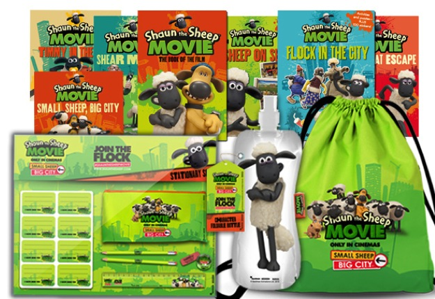 WIN 1 of 5 Shaun the Sheep The Movie prize packs
