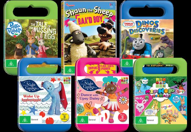 Win 1 of 5 ABC for Kids DVD packs!