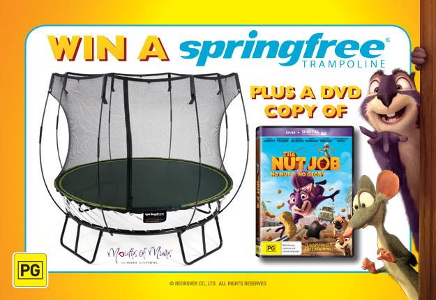 Win BIG & bounce around thanks to The Nut Job & Springfree™!