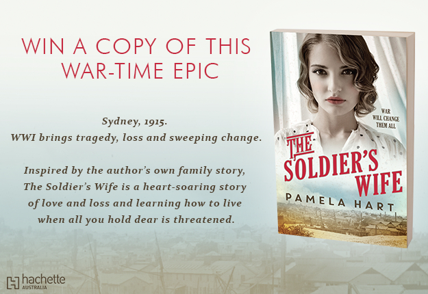 WIN 1 of 20 copies of THE SOLDIER'S WIFE by Pamela Hart