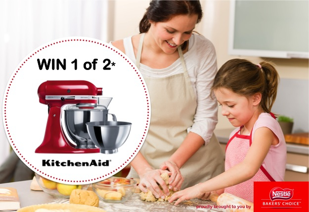 WIN 1 of 2 KitchenAid® KSM160 Artisan Stand Mixers
