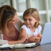 How to blog around the kids