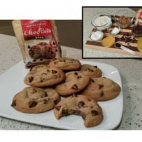 Chewy Dark Chocolate Chip Cookies