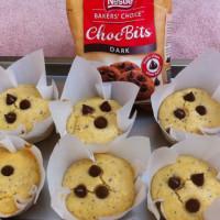 Choc Bits Cream Cheese Muffins