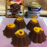 Agar Agar Chocolate Pudding