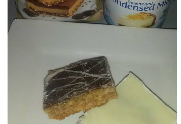 Easy Peasy Caramel Slice
