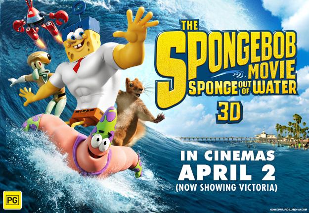 WIN 1 of 5 SpongeBob SquarePants prize packs!
