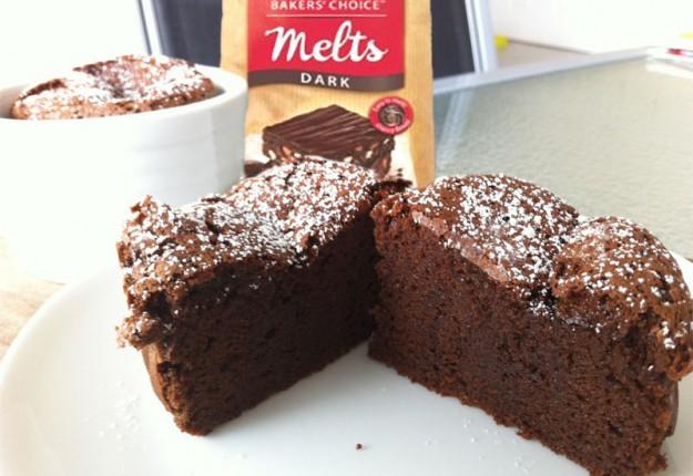 2 Ingredients Gâteau au Chocolat (rich & moist chocolate cake)
