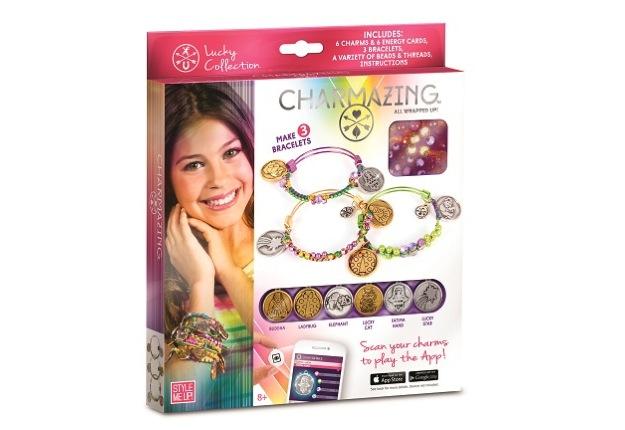 Win 1 of 5 Charmazing DIY fashion bracelet prize packs!